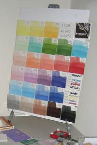 First Color Tile Chart