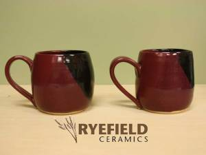 Mugs Red/Black