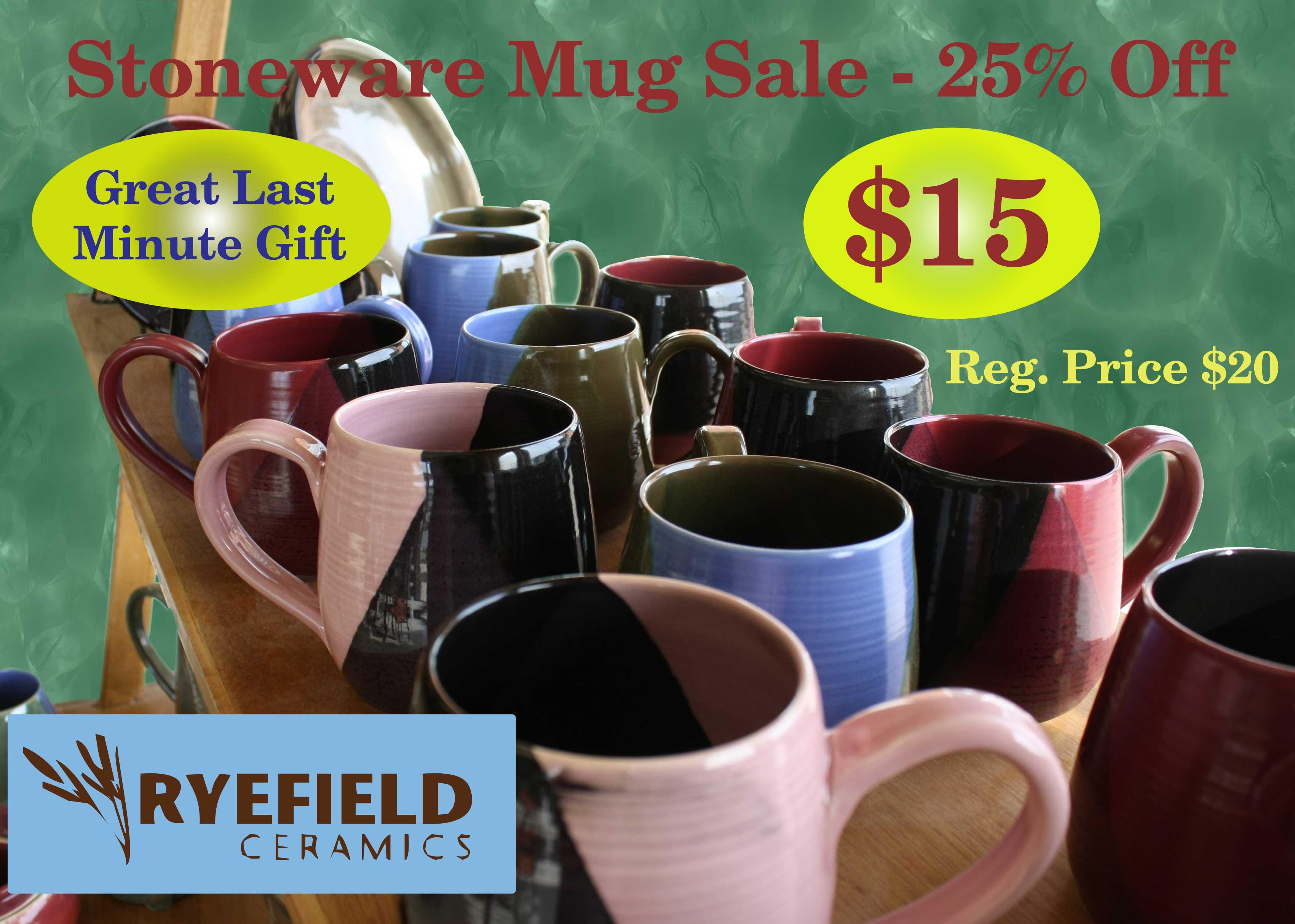 Stoneware Mug Sale